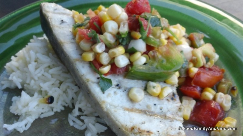 Grilled Swordfish with Heirloom Tomato Salsa